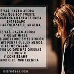 Perdón si te molesto: Carta triste de amor
